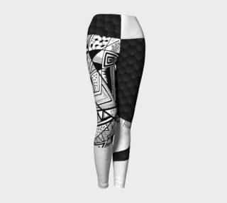 043 Geometric Yoga Leggings preview