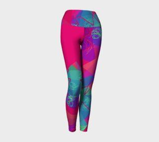 048 Colorful Yoga Leggings preview