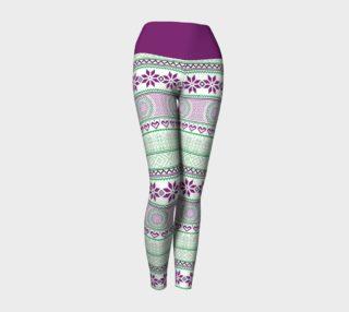 Aperçu de Mint Tribe Yoga Pants