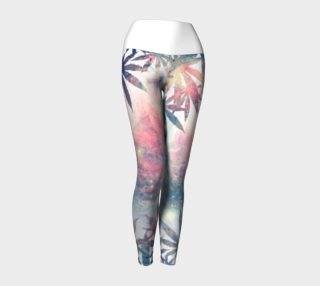 Herbal Skies Yoga leggings  preview