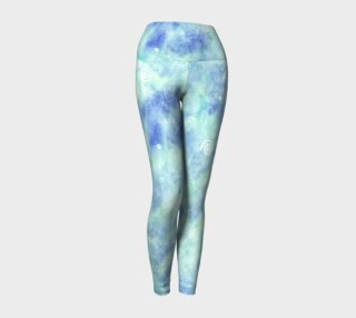 Aperçu de Blue lagoon Yoga Leggings