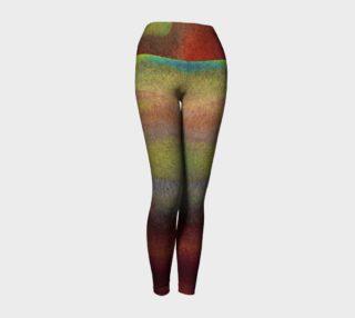 Watercolor Nature Yoga Legging preview