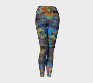 Abstract Mosaic Yoga Legging preview