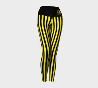 Hufflepuff Stripe Yoga Pants preview