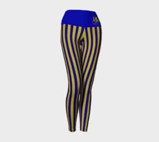 Ravenclaw Original Colors Stripe Yoga Leggings preview