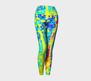 Running Through Magic Trees Yoga Leggings preview