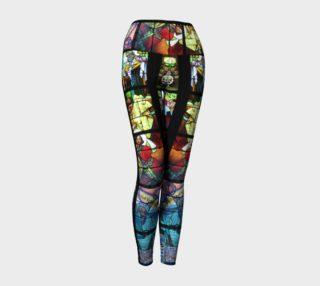 Stained Glass Yoga Legging preview