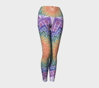 Celtic Yoga Sutra Yoga Leggings preview