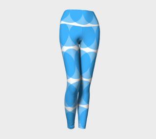 Aperçu de providan (blue) yoga leggings