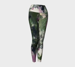 Pixie Flowers Yoga Leggings preview