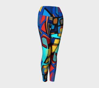 Blue Jazz Yoga Legging preview