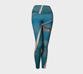 Florida Keys - Seven Mile Bridge Yoga Pants preview