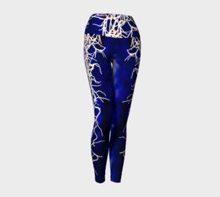 Royal Blue Yoga Leggings preview