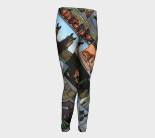 Youth Leggings Horses preview