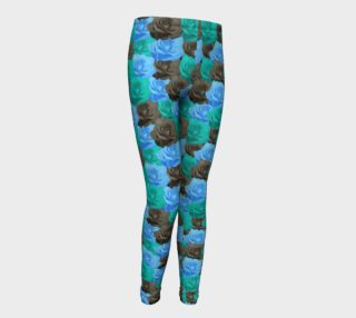Blue Roses Youth Leggings preview