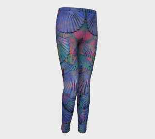 Opal Large-Scale Youth Mermaid Leggings preview
