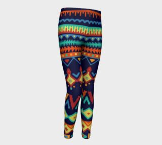 Bright Colorful Tribal Pattern preview