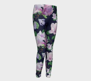 Magnolia Floral Frenzy Youth Leggings preview