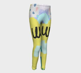 Youth Tights Abstract Pattern 2 preview