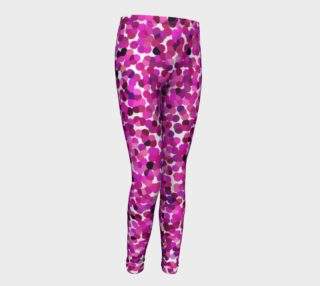 Pink Tone Haze Youth Leggings preview