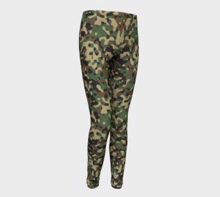 Camo Kids Leggings aperçu
