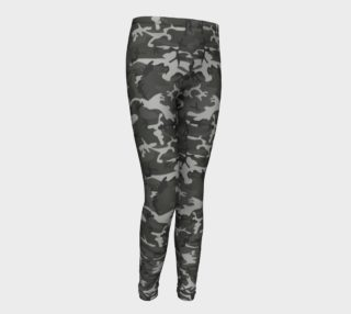 Winter Camo Youth Leggings aperçu