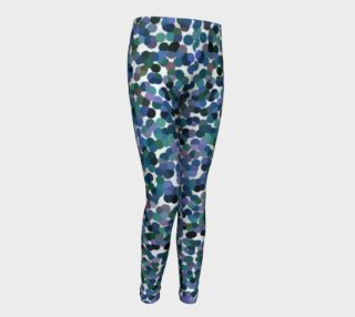 Marine Tone Haze Youth Leggings preview