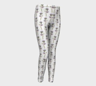 Lotus flowers pattern Youth Leggings preview