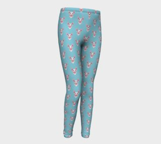 Sphynx cats pattern Youth Leggings preview