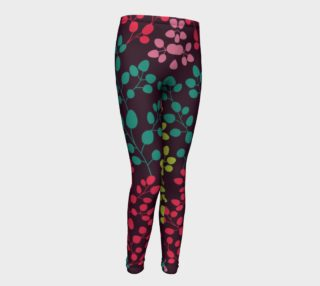 Youth bright leaf leggings preview