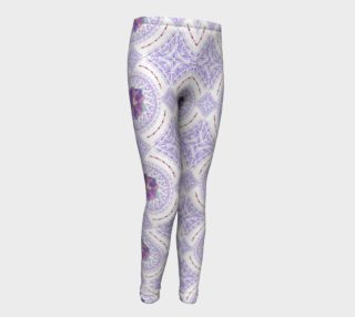 Aperçu de Victorian Flowers Youth Leggings