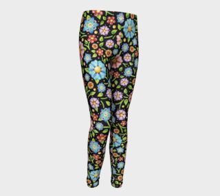 Millefiori Flowers Youth Leggings preview