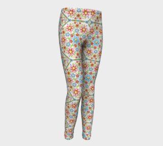 Aperçu de Millefiori Floral Youth Leggings