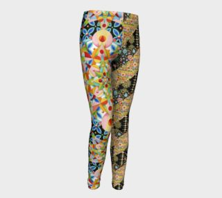 Carousel Patchwork Youth Leggings preview