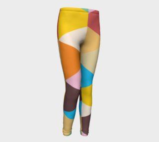 Girls Pennant Leggings preview