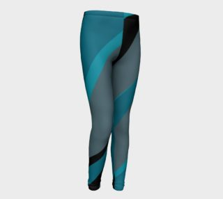 Turquoise and black preview