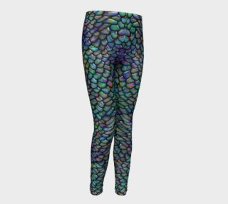 Water Dragon Youth Leggings preview