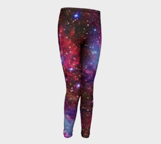 Fox Fur Nebula Youth Leggings preview