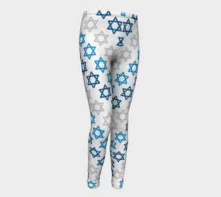 Aperçu de Star of David Hanukkah Leggings - Kids