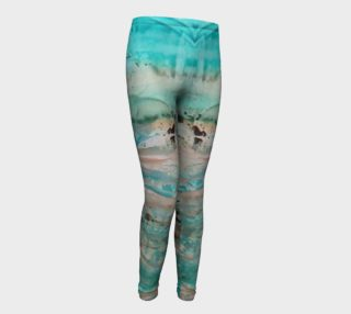 Aperçu de Matt LeBlanc Art Youth Leggings - Design 002