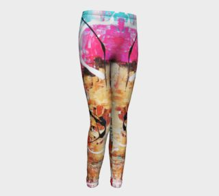 Aperçu de Matt LeBlanc Art Youth Leggings - Design 004
