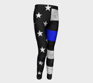 Thin Blue Line Youth Leggings preview