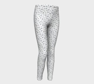 Snowflakes Youth Leggings preview