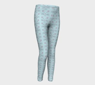Pretty Kitty Youth Leggings preview