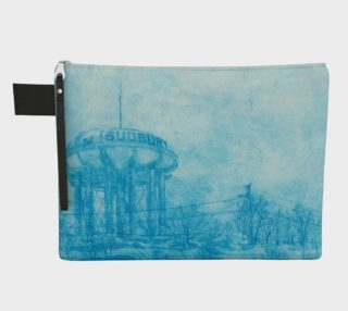 The Sudbury Water Tower Blue Carry All preview