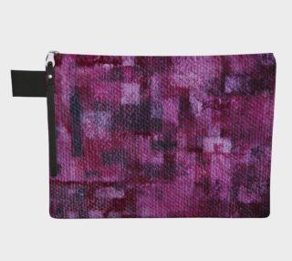 Pink Mosaic Zipper CarryAll   preview