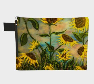 Sunflowers Zipper Carry All preview