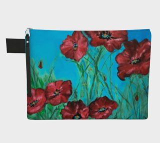 Linda's Poppies Zipper Carry All preview
