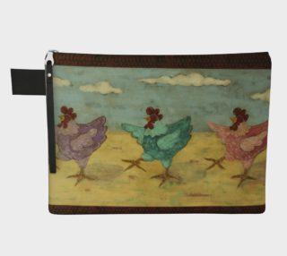 Aperçu de Hot Chicks Zipper Carry All