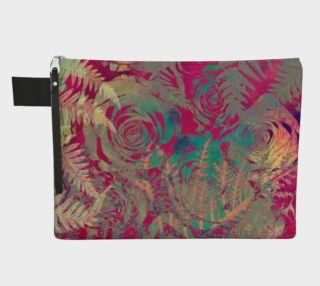 Flowers  zipper carry all preview